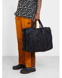 Porter Luggage Label Trek Convertible Tote Black