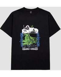 Brain Dead Human Growth T-shirt Black