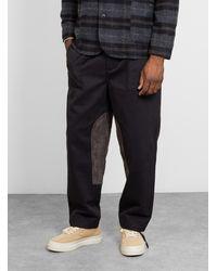 Garbstore Ruffel Patch Trouser Black