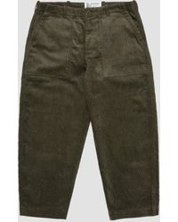 Garbstore Ruffle Pant Olive Green