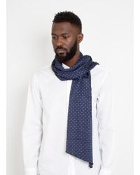 Engineered Garments - Long Scarf Polka Dot - Lyst