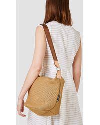 "Bag ""n"" Noun - Shoulder Mesh Mini Bag Beige - Lyst"