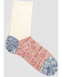 Mauna Kea - Mixed Melange Three Part Socks - Lyst