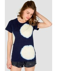 Jungmaven - Moon T-shirt Blue - Lyst