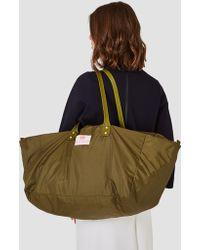 "Bag ""n"" Noun - Nylon Muffin Bag Olive - Lyst"