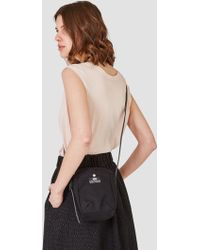 "Bag ""n"" Noun - Quality Canvas Pochette Mini Black - Lyst"