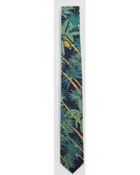Gitman Brothers Vintage - Palm Tree Print Tie - Lyst