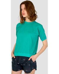 Jungmaven - Short Sleeve Raglan T-shirt Basil - Lyst