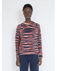 Trademark Space Dye Sweater - Red