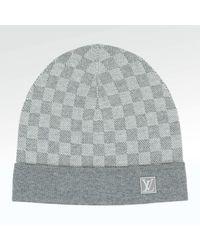 creps-locker Louis Vuitton Petit Damier Hat Gray