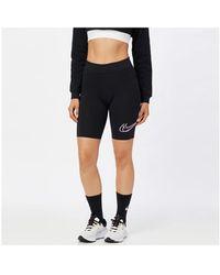Nike Cycling leggings With Logo - Black