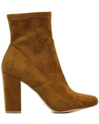 Steve Madden Tronchetto PATTIE - Marrone