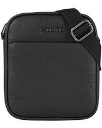 Calvin Klein Crossbody Bag With Logo - Black