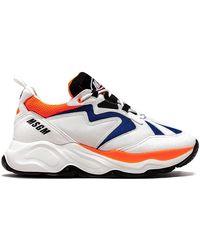 MSGM Sneakers ATTACK SNEAKERS - Blu