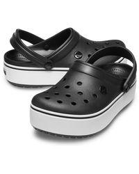 Crocs™ Crocband Platform Clog - Black