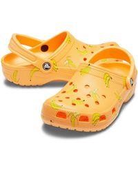 Crocs™ Cantaloupe Classic Vacay Vibes Clog - Orange