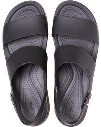 Crocs™ Brooklyn Low Wedge - Black