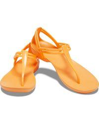 Crocs™ Isabella T-strap Sandal - Multicolor