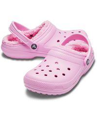 Crocs™ Carnation / Carnation Classic Lined Clog - Pink