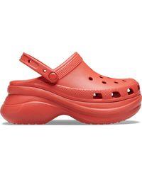 Crocs™ Classic Bae Klompen - Rood