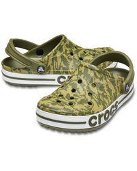 Crocs™ Bayaband Seasonal Printed Sabots - Vert