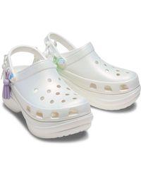 Crocs™ Classic Bae Iridescent Clog - White
