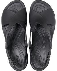 Crocs™ Brooklyn High Wedge - Black