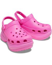 Crocs™ Classic Bae Klompen - Roze