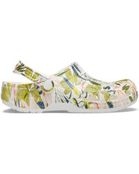 Crocs™ White Classic Vera Bradley Clog