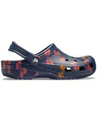 Crocs™ Classic Vacay Vibes Clogs - Blau