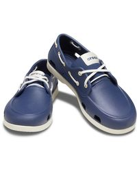 Crocs™ Classic Boat Shoe Schoenen - Blauw