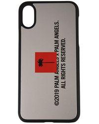 Palm Angels Palm Tree Iphone X Case - Metallic