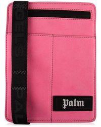 Palm Angels Logo Cross Body Bag - Pink