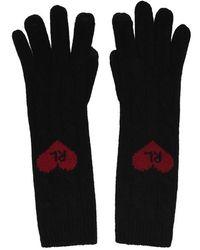 Polo Ralph Lauren Polo Heart Glove Ld94 - Black