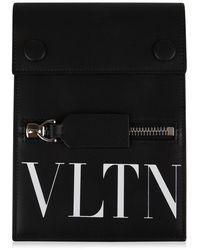 Valentino - Vltn Neck Strap Phone Case - Lyst
