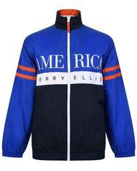 Perry Ellis Track Jacket - Blue