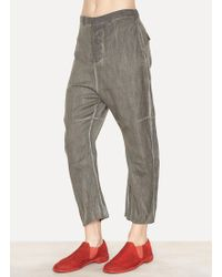 Lumen Et Umbra - Viscose Wool Angora Cropped Trousers - Lyst