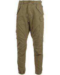 R13 - Military Cargo Pants - Lyst