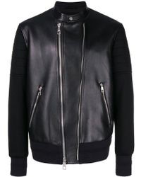 Neil Barrett Leather Jacket - Black