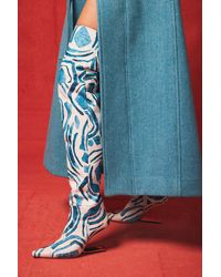 Cult Gaia Yasmina Boot - Blue
