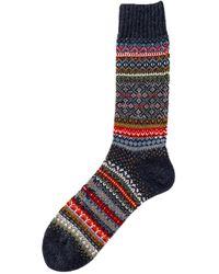 Chup Lampa Wool Sock Indigo - Blue
