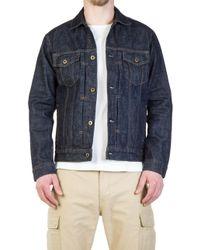 Japan Blue Jeans Jbjk1063-j Cote D'voire Selvage Denim Jacket 13.5oz - Blue