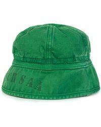 6187cc519e09c Nigel Cabourn - Lybro Drill Bucket Hat Deck Green - Lyst