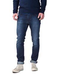 Nudie Jeans - Nudie Jeans Lean Dean Deep Cobalt - Lyst
