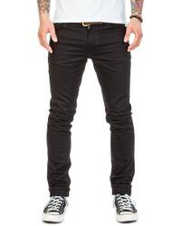 Nudie Jeans - Nudie Jeans Lean Dean Dry Cold Black 11.75oz - Lyst