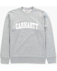 Carhartt WIP - University Sweatshirt Grey Heather - Lyst