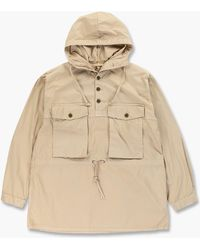 Nigel Cabourn Track Smock Off White