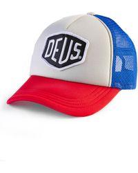 Deus Ex Machina - Bayland Trucker Blue/red - Lyst