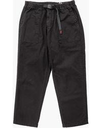 Gramicci Loose Tapered Twill Trousers Black