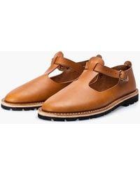 Steve Mono Artisanal Sandals 10/15 Tobacco - Brown
